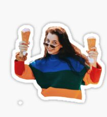 Emma Chamberlain Ice Cream Sticker