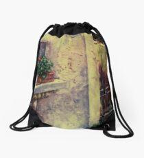 Flower Box Bonnieux, France Drawstring Bag