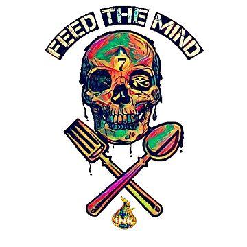 Feed The Mind by FireInkDesignz