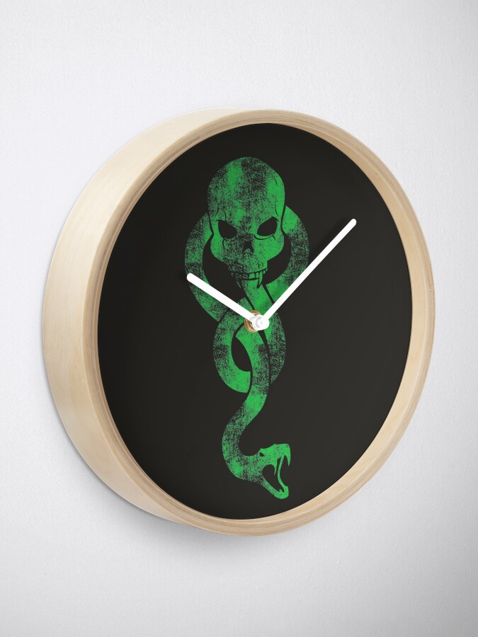 Alternate view of DEATH EATERS Clock