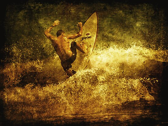 The Surfer by Trish Woodford