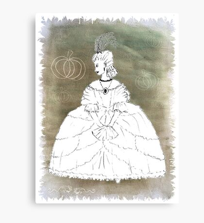 Cinders for the Wall Canvas Print