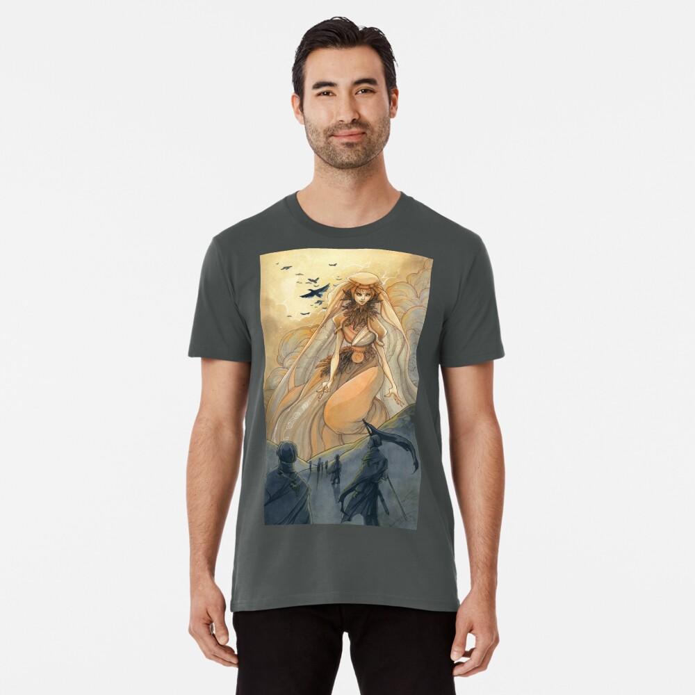 Tarot - Judgement (The Morrigan) Premium T-Shirt