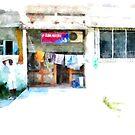 Albania: shop of Fier by Giuseppe Cocco