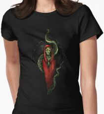 Cthulhu Priest Women's Fitted T-Shirt