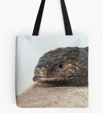 Shingle Back Lizard called Mouse Tote Bag