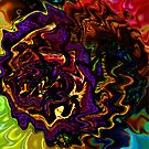 Multicolored wrinkled pattern 02 by Zsuzsa6