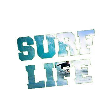 Surf Life by BigRedDot