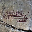 Rock Carvings - Tanum, Sweden by Beth A