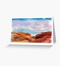 Sandhills Greeting Card