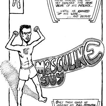 Masculine Guy by peterdefazio