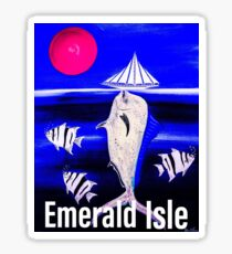 Mahi Dream Emerald Isle  Sticker