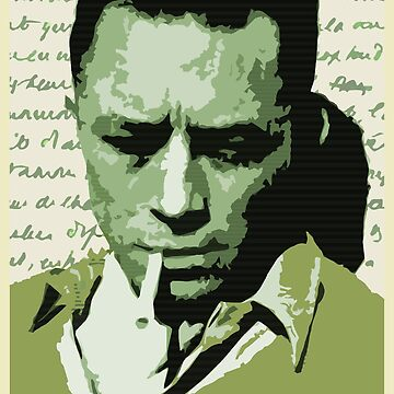 Albert Camus by SUCHDESIGN