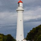 The Lighthouse, Aireys Inlet July 2007 by kraftyman