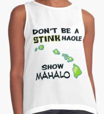 Show Mahalo Contrast Tank