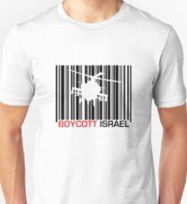 Boycott Israel_punch_out (heli version) T-Shirt