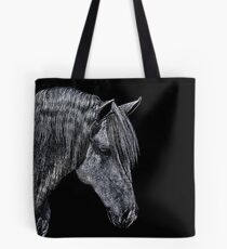 Portrait Of A Horse Fine Art Print Tote Bag
