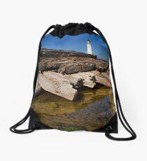 Branes Ness Lighthouse Drawstring Bag