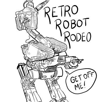 Retro Robot Rodeo by Extreme-Fantasy
