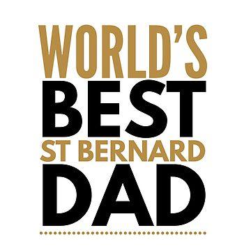 St Bernard dad by CharlyB