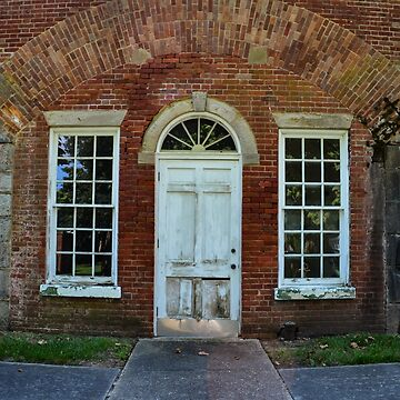 Old Brick Building by lookherelucy