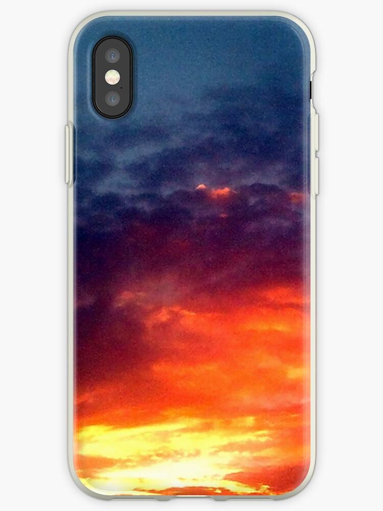 Colorful Dark Sunset by saturnea