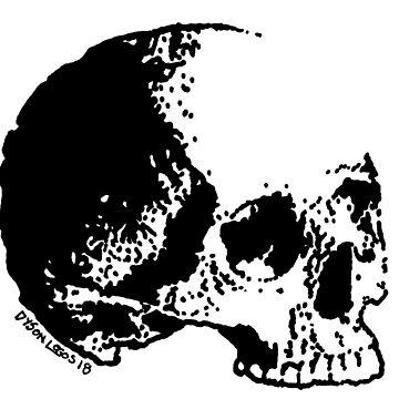 Skull Variations #3 by DysonLogos