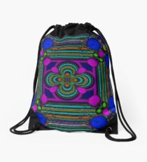 Bubbles and ribbon Drawstring Bag