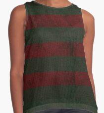 Freddy Krueger's sweater pattern Contrast Tank