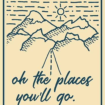 Oh The Places You'll Go - Travel Badge by mongolife