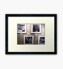 EXHIBIT Framed Print