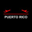 Puerto Rico Airport Plane Dark Color by TinyStarAmerica