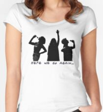 Mama Mia Here We Go Again Women's Fitted Scoop T-Shirt