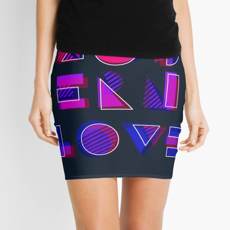 Modern Love (bonus) Mini Skirt