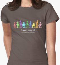 I am unique, just like everyone else Women's Fitted T-Shirt