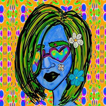 Pretty Trippy Girl by kassidycoleman