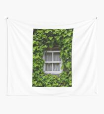 Ivied Window Wall Tapestry