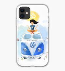 Yoga Travel California iphone case