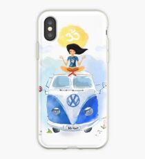 Yoga  Travel California iPhone Case