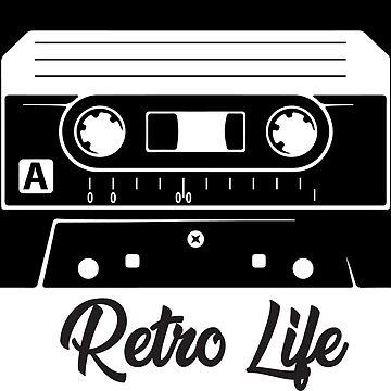 Retro Cassette by CreativeClassic