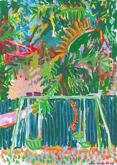 Backyard Swings by John Douglas
