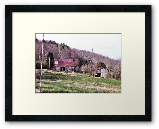 """A Countryside View from the Car Window""... prints and products by Bob Hall©"