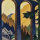 Black Forest vintage travel advertisement by edsimoneit