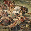 The Victorious Hermann at Teutoburg, 9 A.D. by edsimoneit