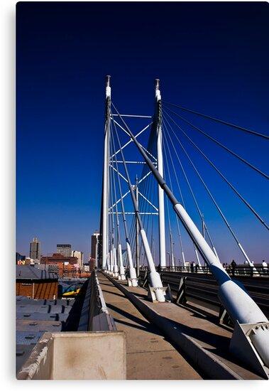 Nelson Mandela Bridge & Walkway by RatManDude