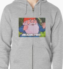 Obligame prro Zipped Hoodie