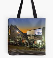 Hanson Concrete Plant - East Perth  Tote Bag