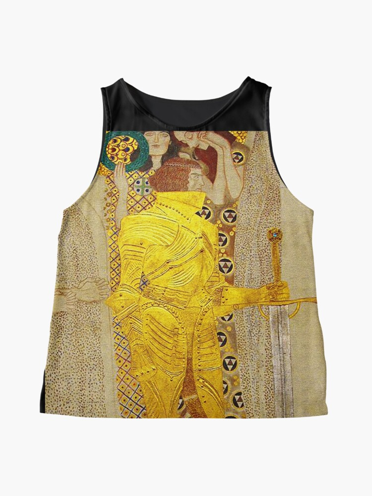 Alternate view of Knight in Gold Armor Sleeveless Top