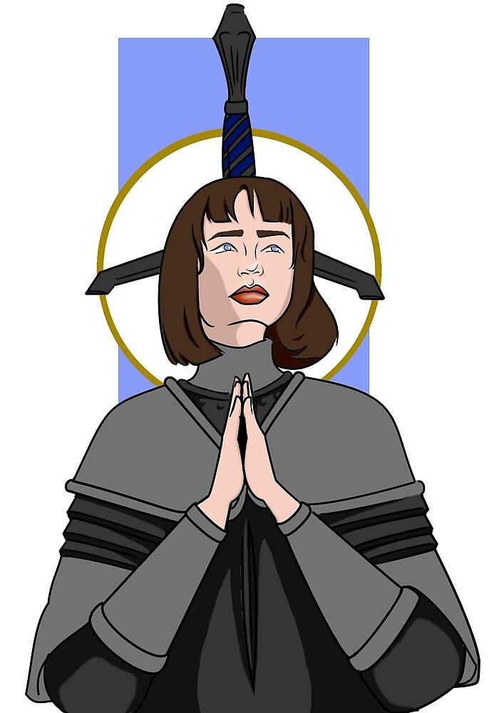 Saint Joan of Arc by alexartkins
