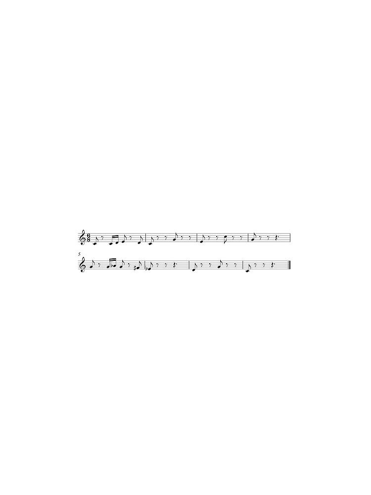 Totaka's Song by 16TonPress